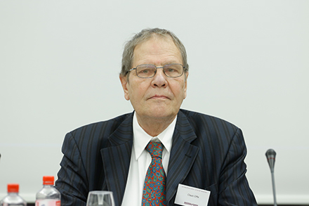 Prof. Dr. Claus Offe (Professor of Political Science at Humboldt University, Berlin)