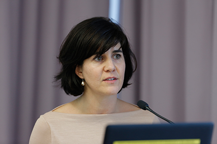 "Dr. Eszter Kollár (Researcher and Lecturer at the Chair of International Political Theory, Cluster of Excellence ""The Formation of Normative Orders"", Goethe University Frankfurt)"