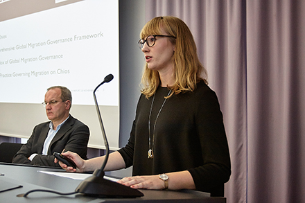 "Nele Kortendiek (Doctoral Candidate at the Cluster ""The Formation of Normative Orders"" and the Institute of Political Science, TU Darmstadt in the working group ""Transnational Governance"")"