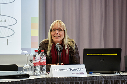 "Prof. Dr. Susanne Schröter (Professor for the Anthropology of Colonial and Postcolonial Orders at the Goethe University Frankfurt and Principal Investigator at the Cluster of Excellence ""The Formation of Normative Orders"")"
