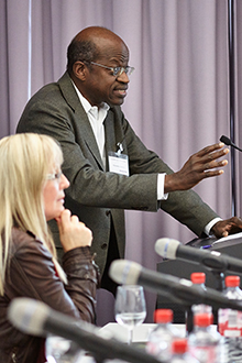 "Prof. Dr. Mamadou Diawara (Professor for Anthropology at the Goethe University Frankfurt, Germany, Founding Director of Point Sud, Bamako and Principal Investigator at the Cluster of Excellence ""The Formation of Normative Orders"")"
