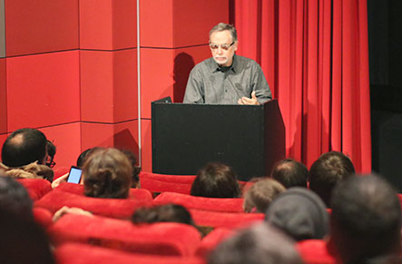 Ismail Xavier (Senior-Professor of Audiovisual Studies an der Universität São Paulo)