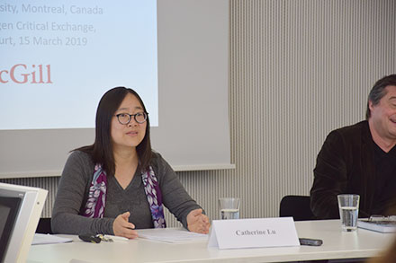 Catherine Lu (McGill University, Montreal)